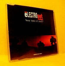 MAXI Single CD ELECTROSET How Does It Feel ? 4TR 1992 Progressive House Techno