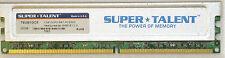 1 go de mémoire ddr2 pc2-5300u super talent mémoire ddr2-667 1 x faible densité non ecc à 667 MHz