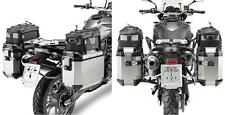 GIVI SIDE LUGGAGE CARRIER PL5103CAM Trekker Outback for BMW F 800 GS 08-17