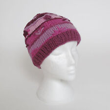 Funky Hand Knitted Winter Woollen Crazy Stitched Beanie Hat UNISEX CSB6