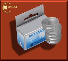 Münzkapseln, lose, fertig montiert, 100 Stck. für alle 2 Euro Münzen