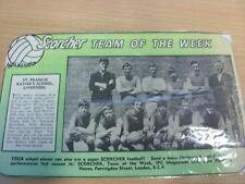 07/02/1970 St Francis Xaviers School Liverpool: Scorcher Football Magazine Team