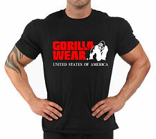 "T-Shirt Bodybuilding Fitness Palestra "" Gorilla Wear *"