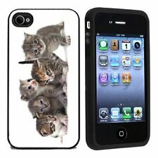 Cute Kittens For Apple iPhone 4 or 4s Case / Cover All Carriers