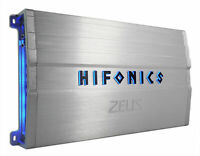 Hifonics ZG-1200.4 ZEUS Gamma 1200w 4-Channel Car Audio Amplifier Class A/B Amp