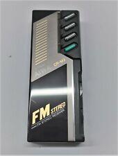 AIWA CR-03 Mini FM-Receiver Stereo Radio Stationstasten - voll funktionsfähig -