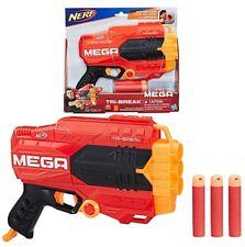 Nerf Mega Tri-Break Blaster Soft Foam Gun Toy Gift Barrel Strike Game New