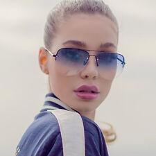 "NEW QUAY AUSTRALIA Black/Navy ""MUSE FADE"" Festival Sunglasses -SALE"