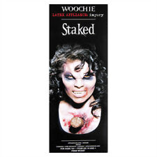Woochie Staked Latex Prosthetic Zombie Vampire Injury Halloween Fancy Dress