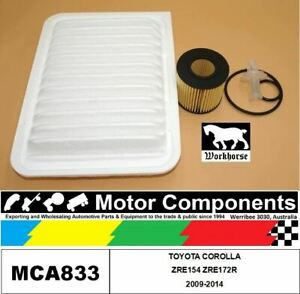 FILTER SERVICE KIT for TOYOTA COROLLA ZRE154 ZRE172R 2009-2014