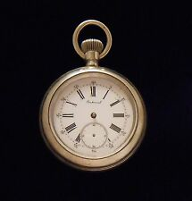 Longines Private Label Cross & Beguelin Centennial Pocket Watch from circa 1886