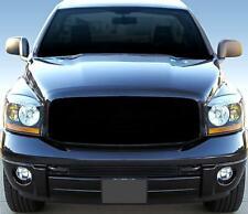 Fit 06-08 Dodge Ram 1500/2500/3500 Lower Bumper 1PC Bolton Black Billet Grille
