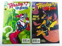 DC HARLEY QUINN (2001) #6 #10 BATGIRL LOT NM (9.4) Ships FREE!