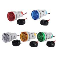 0-100A AC Round LED Digital Display Ampermeter Voltage Signal Current Indicator