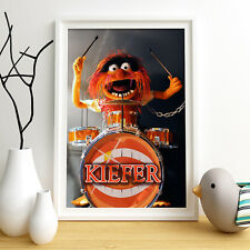 ANIMAL Sesame Street Personalised Poster A4 Print Wall Art Fast Delivery ✔