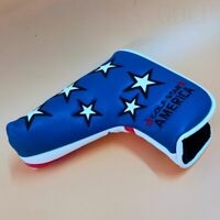Star Golf Putter Cover Magnetic Blue Head Cover for Taylormade Pxg Blade