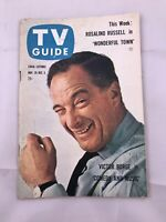 Pitt. ed November 29-Dec 5 TV GUIDE 1958 VICTOR BORGE Rosalind Russell