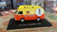 Fiat 238 Lieferwagen  orange/gelb, -Hachette/Ixo/Norev- Modell -1:43- box