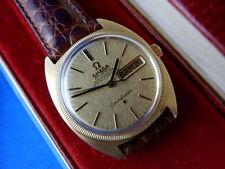 Relojes de pulsera OMEGA oro de cuero