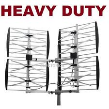 MULTI-DIRECTIONAL VHF UHF OUTDOOR HDTV HD TV ANTENNA 8 BAY OVER THE AIR OTA 8BAY