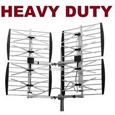MULTI-DIRECTIONAL VHF UHF OUTDOOR HDTV HD TV ANTENNA 8 BAY OVER THE AIR OTA 8BAY