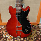 Vintage 1961 Hofner Colorama I Cherry Red Humbucker Electric Guitar *1960s* for sale
