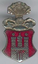 German Police/Hamburg City Old Cap badge, RARE, I/II