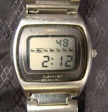 Nice Men's Vintage Seiko Quartz LC Digital 1970's 0139-5029 Working Watch