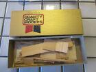 quality craft models old wood rail box car kit HO scale ////