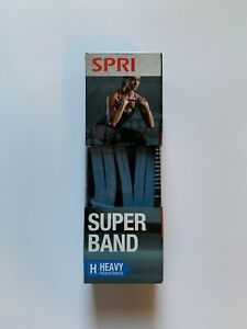 SPRI Super Band Resistance Workout Band Exercise Strength with Exercise Guide
