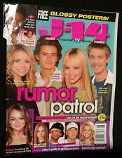 2004 JUNE J-14 MAGAZINE JUST FOR TEENS HILARY LINDSEY ASHLEY OLSEN EMINEM COVER