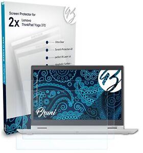 Bruni 2x Schermfolie voor Lenovo ThinkPad Yoga 370 Screen Protector