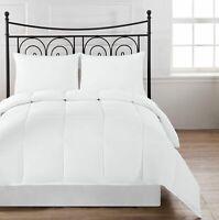 SupraSoft Aniston Ultra Soft Goose Down Alternative Comforter Set, White (Twins)