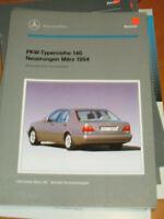 Mercedes Service - Neuerungen - Änderungen W 140  - 1994 / W 140.033 -12 Zyl.