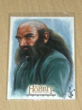 2015 Cryptozoic Hobbit Smaug sketch fine art card Jason Potratz Jack Hai 1/1