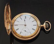 Full Hunter Pocket Watch c.1910  / montre gousset