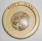 Roseville Pottery Juvenile Nursery Rhyme Baby Plate