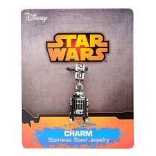 Official Stainless Steel Star Wars R2-D2 Dangle Bracelet Charm