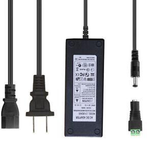 AC 110-240V TO DC 24V 5A 120W Adapter Power Supply for 3528 5050 LED Strip Light