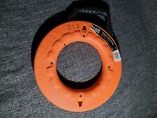 Klein Tools 50'ft Navigator Nylon Fish Tape Non Conductive Wire Cable Puller