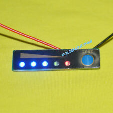 3S 12V LED level voltage monitor meter indicator for Li-ion Battery water proof