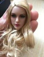 "KIMI TOYS KT007 1/6 Asia Long Hair Beauty Girl Head Model  Fit 12"" Phicen Figure"