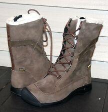 KEEN REISEN WINTER LACE WP US 8 EU 38.5 Woman's Boot Cascade Brown Leather