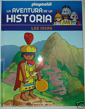 Los Incas, Libro nº 24 de la coleccion, Playmobil La Aventura de la Historia