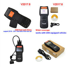 D900 OBD II EOBD Code Reader Scanner Diagnostic Tool V2017.6 OBD2 Cable for Car