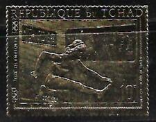 Chad: 1970; Gold Stamp Olympic games Munich 72 theme, EBTC001