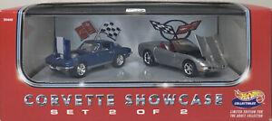 Hot Wheels Collectibles Corvette Showcase Set 2 of 2  -A