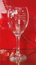 Personalizzato Inciso Natale Vino in Vetro Babbo Natale Segreto Regalo, Regalo 11