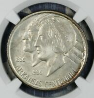 1936 ARKANSAS SILVER COMMEMORATIVE HALF DOLLAR COIN NGC MS 66 CAC