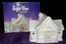 """*RETIRED PRECIOUS MOMENTS """"SUGAR TOWN"""" DOCTOR'S OFFICE NIGHTLIGHT $125.00 VALUE"""